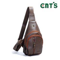 Túi đeo chéo CNT unisex MQ15 cá tính NÂU giá sỉ