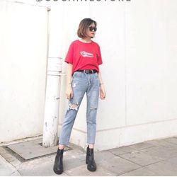 quần baggy jean nữ giá sỉ