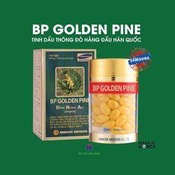TINH DẦu THÔNG Đỏ HÀN QUỐC BP GOLDEN PINE/ lọ 100 viên