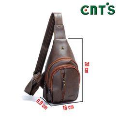 Túi đeo chéo CNT unisex MQ15 cá tính ĐEN giá sỉ, giá bán buôn