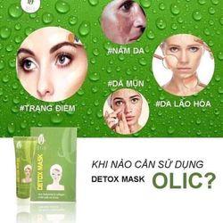 Thải độc cho da mặt Detox Mask