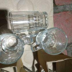 Combo 1 thùng 24 bộ cốc thủy tinhh uống bia mỗi bộ 6 cốc 144cốc