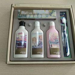 Bộ sản phẩm hương nước hoa Hàn quốc sữa tắm dầu gội dầu xả kem đánh răng và bàn chải đánh răng giá sỉ