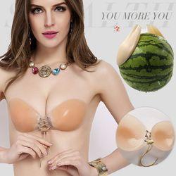 Áo dán ngực sinicon năng ngực tối đatha hồ bạn mặt đồ hở vai 109