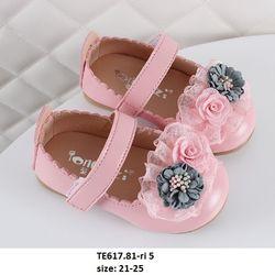 Giầy búp bê hoa hồng S21-25 TE617 giá sỉ