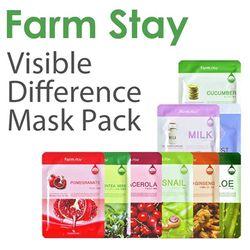 Mạt nạ dưỡng da Farm Stay Visible Difference Mask Sheet
