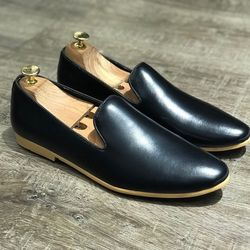 Giày Tây Da Đế Vàng - Mã Tây trơn vàng giá sỉ, giá bán buôn