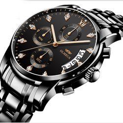 Đồng hồ Olmeca 0827 fullbox full đen giá sỉ