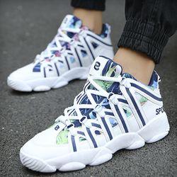 Giày nam sneaker kiểu lạ bao đẹp mềm mại tha hồ chay 615 giá sỉ