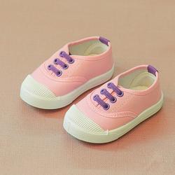 Giày thể thao cho bé gái có dây 06 hồng giá sỉ