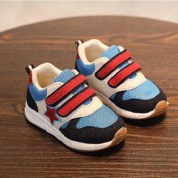 Giày thể thao cho bé trai ngôi sao 01 xanh dương giá sỉ