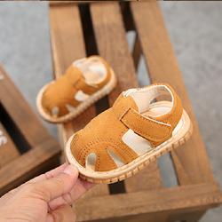Giày Sandal cho bé gái 04 nâu vàng giá sỉ