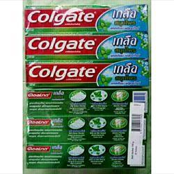 hộp kem đánh răng Colgate Thái Lan