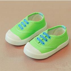 Giày thể thao cho bé trai và bé gái có dây 06 xanh chuối giá sỉ