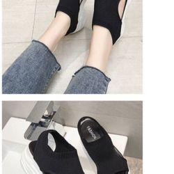 Giày Sandal bánh mì hàng quảng châu cao 5cm giá sỉ, giá bán buôn