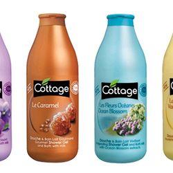 Sữa Tắm Dưỡng Ẩm Trắng Da Cottage 750ml Của Pháp giá sỉ