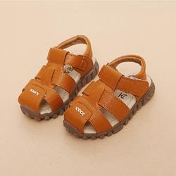 Giày Sandal cho bé trai 03 nâu bò giá sỉ
