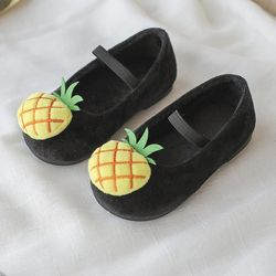 Giày Búp bê cho bé gái Thơm đen 04 giá sỉ