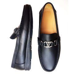 Giày lười thời trang nam da bò thật GM3 giá sỉ