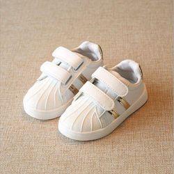 Giày thể thao cho bé gái gót vàng 02 giá sỉ