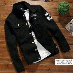 Áo khoác jean nam thời trang giá sỉ, giá bán buôn