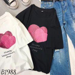 Thời trang nữ tay lở phôm rộng thun dày bao đẹp giá sỉ giá bán buôn unisex bán sỉ giá xưởng sản xuất áo thun giá sỉ