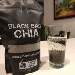 HẠT CHIA ÚC BLACK BAG CHIA 500G