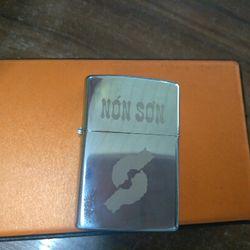 Zippo khắc tên công ty logo làm quà tặng giá sỉ