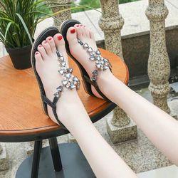 Giày sandal đa pha lê giá sỉ, giá bán buôn