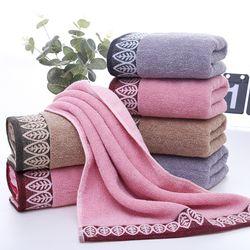 Khăn tắm cotton 100 siêu thấm nước 35x75cm 100g-136 giá sỉ