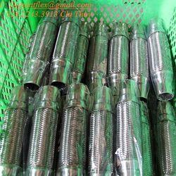 Bảng giá ống bô chống rung khớp nối mềm inox khớp giãn nở ống mềm kết nối đầu phun sprinkler khop noi mem giá sỉ