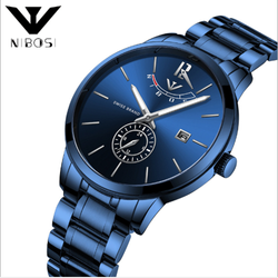 Đồng hồ Nibosi 2318 fullbox full xanh giá sỉ