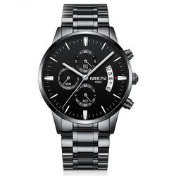 Đồng hồ Nibosi 2309 fullbox đen-kim trắng giá sỉ