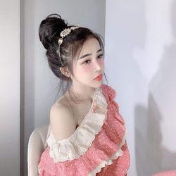 Bộ mặc nhà – Bánh bèo bi TDQD Quảng Châu giá sỉ, giá bán buôn