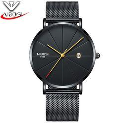 Đồng hồ Nibosi 2321 fullbox đen-kim vàng giá sỉ