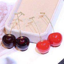 Bông tai cherry siêu cute