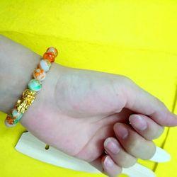 chuỗi vòng đeo tay phong thủy hạt đá 8li mix mặt tỳ hưu mẫu màu y hình giá sỉ 15k 1 chuỗi giá sỉ