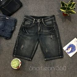 Quần Short Jean Nam 550 thời trang chuyên sỉ jean 2KJean giá sỉ