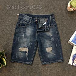 Quần Short Jean Nam 025 thời trang chuyên sỉ 2KJean giá sỉ