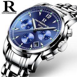 Đồng hồ Ontheedge RZY036 fullbox xanh giá sỉ