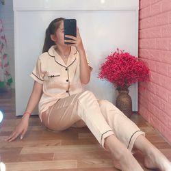 Bộ mặc nhà – Pijama tay ngắn quần dài nhiều mẫu giá sỉ