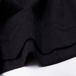 Áo thun trơn nữ đen giá sỉ, giá bán buôn