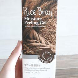 Gel Tẩy Tế Bào Chết Chiết Xuất Gạo 3W Clinic 180 ml