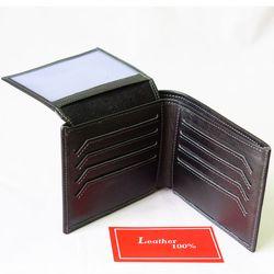 Ví Da Bò - Màu Đen Dáng Ngang - VB001-DENDN giá sỉ, giá bán buôn