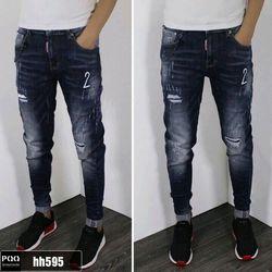 Quần jean nam thêu số 2 thời trang chuyên sỉ jean 2KJean giá sỉ