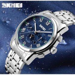 Đồng hồ Skmei 9121 full 6 kim chạy trăng sao giá sỉ