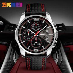 Đồng hồ Skmei 9106 kiểu dáng hiện đại full 6 kim chạy giá sỉ