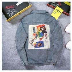 Áo Khoác Jeans Nam A357 giá sỉ