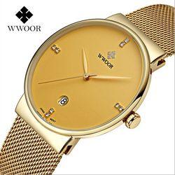 Đồng hồ WWOOR 8018 vàng giá sỉ