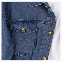 Áo Khoác Jeans Nam A358 Sỉ
